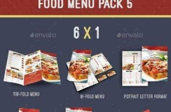 Food Menu Pack 5 8757718 12
