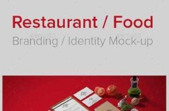 Restaurant Food Branding Identity Mock-up 8908478 13