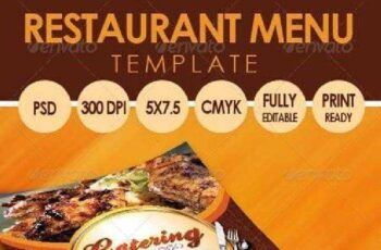Catering Menu Template (Flyer) 3318145 4
