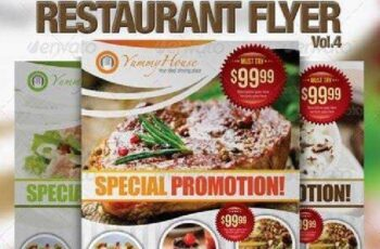 Restaurant Flyer Vol.4 2626182 3