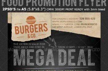 Restaurant Food Promotion Flyer Template 8690071 4