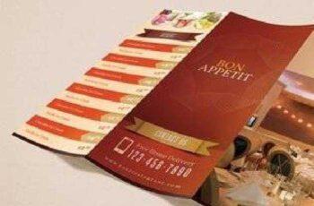 Welcome Restaurant Menu Card Pack 5396 4