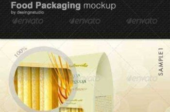 Food Packaging Mock-Up 514737 7