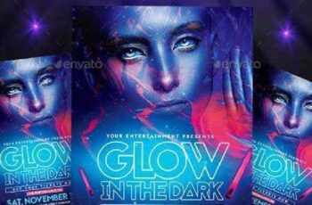 Glow in the Dark Flyer + Instagram Promo 9136501 5