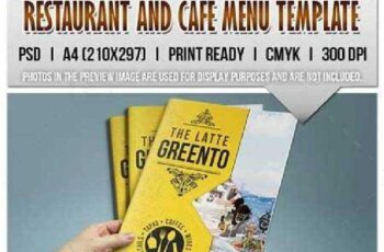 Restaurant and Cafe Menu Template 9060513 3