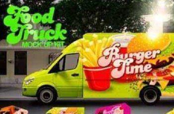 Food Truck Mock Up Kit 137784 3