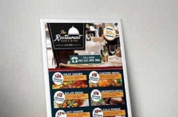 Cafe and Restaurant Flyer 155216 7