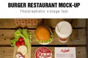 Burger Restaurant Mockup 10012544 3