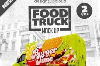Food Truck Mock Up Kit Vol. 2 9967534 3