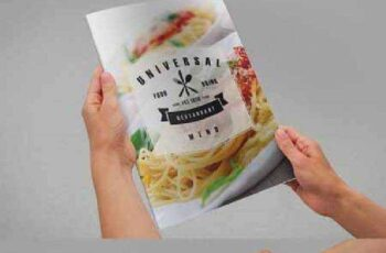 Universal Restaurant Menu A4 177100 11