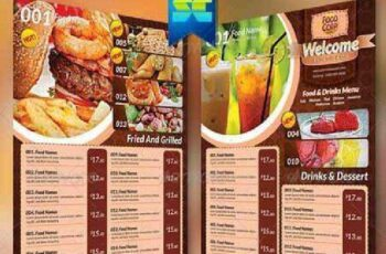 A4 Size Restaurant Menu 5735839 7