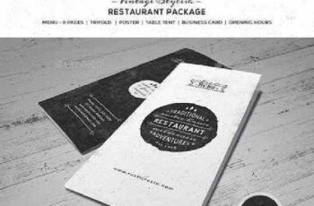 Vintage Stiylish Restaurant Package 10432237 3