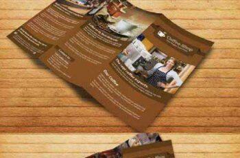 Coffee Shop Restaurant Trifold Broch 218173 4