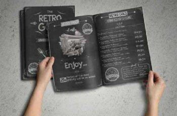 Retro Cafe & Restaurant Menu Pack 244311 7