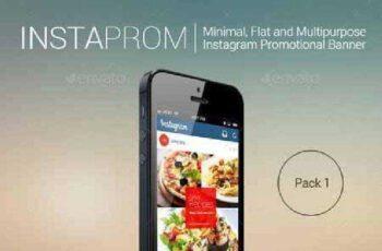 Instaprom Pack 1- Instagram Multipurpose Banners 11302604 3