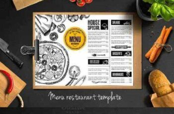 Food menu, restaurant flyer 288236 5