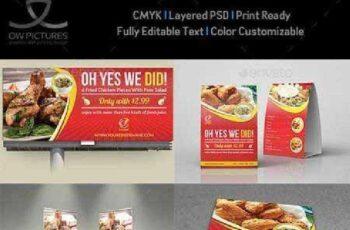 Restaurant Advertising Bundle Vol.6 12237387 8
