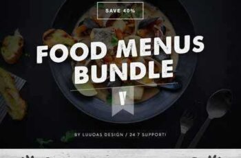 Food Menus Bundle 5 300826 2