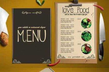 STYLISH food menu 452978 3