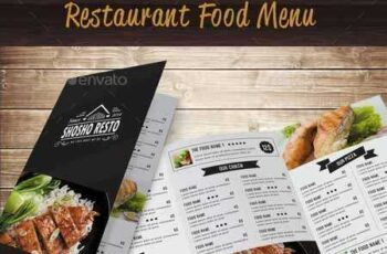Restaurant Food Menu 14458620 6
