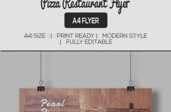 Pizza Restaurant Flyer 11657805 7