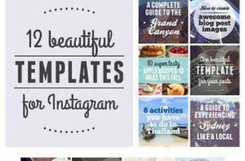 12 Beautiful Templates For Instagram 566302 6