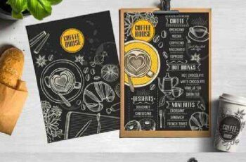 Food menu, restaurant flyer #30 559987 3