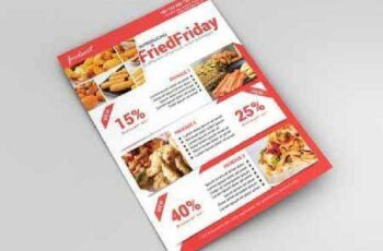 Food Promotional Flyer 613998 8