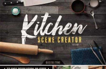 Kitchen Scene Creator Volume 1 497084