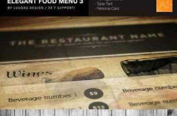 Elegant Food Menu 3 170102 6
