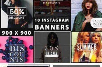 10 Instagram Banners - Vol. 1 653383 4
