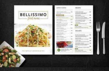 Modern Restaurant Menu (Bellissimo) 278052 11