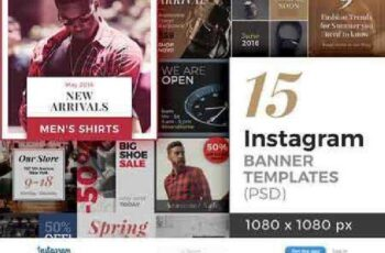 15 Instagram Banner Templates 713774 8