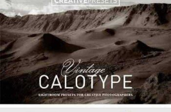 Vintage Calotype Lightroom Presets 893995 3