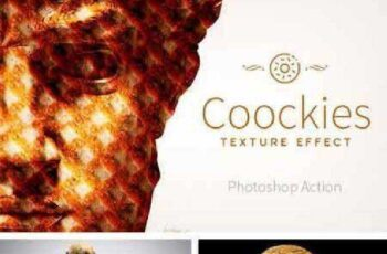 Coockies Texture Effect 892977 7