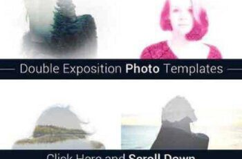 Double Exposition Photo Templates 900047 12