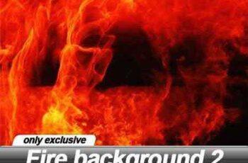 Fire background 2 - 25 UHQ JPEG 3