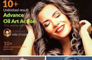 Advance Oil Art Action 914436