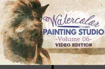 Watercolor Painting Studio Vol. 06 875372 7