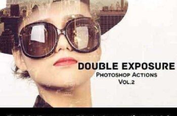 Double Exposure Photoshop Actions V2 942754 3