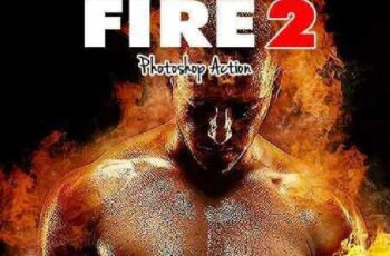Fire V.2 - Photoshop Action 17141920