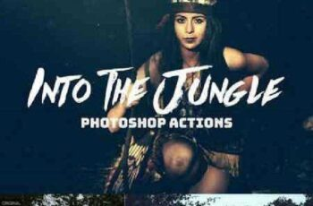 Into The Jungle Photoshop Actions 951733