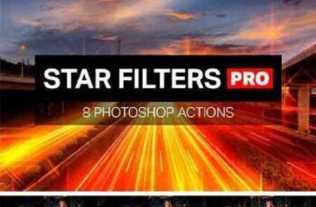 Star Filters Pro - 8 PS Actions 915313