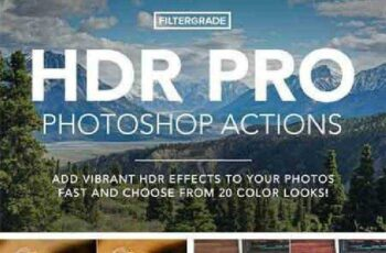 HDR PRO Photoshop Actions 951469 3