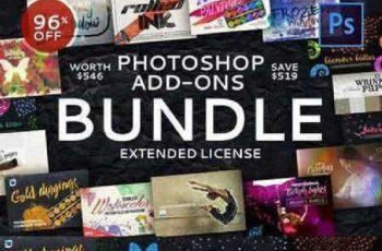 Photoshop Add-Ons Bundle 963636 4