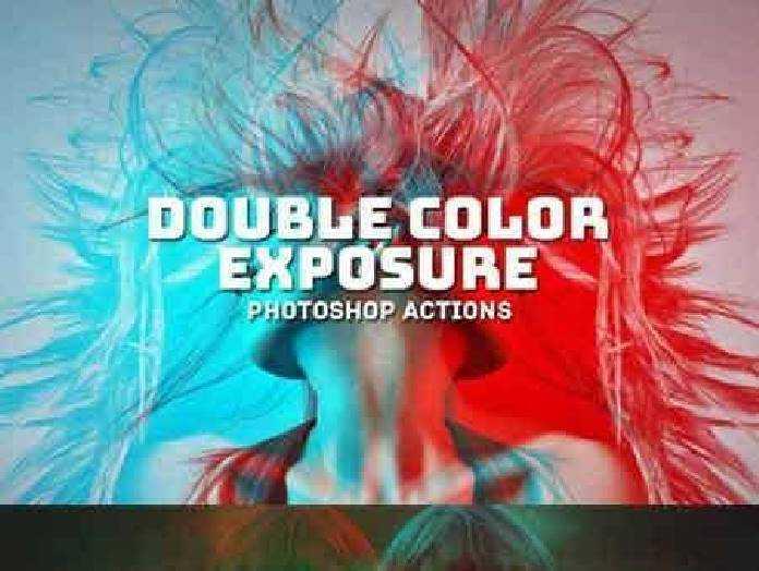 Double Color Exposure Actions 973687 Freepsdvn