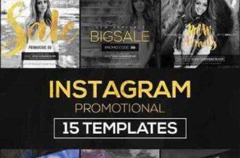 15 Instagram Templates vol.9 Promo 968449 5