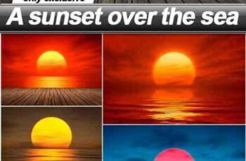 A sunset over the sea - 18 UHQ JPEG 15