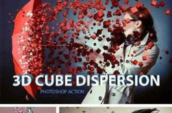 3D Cube Dispersion 1002053