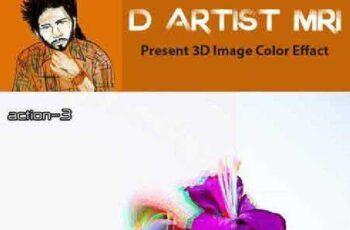 3D Image Color Effact 8189392 3